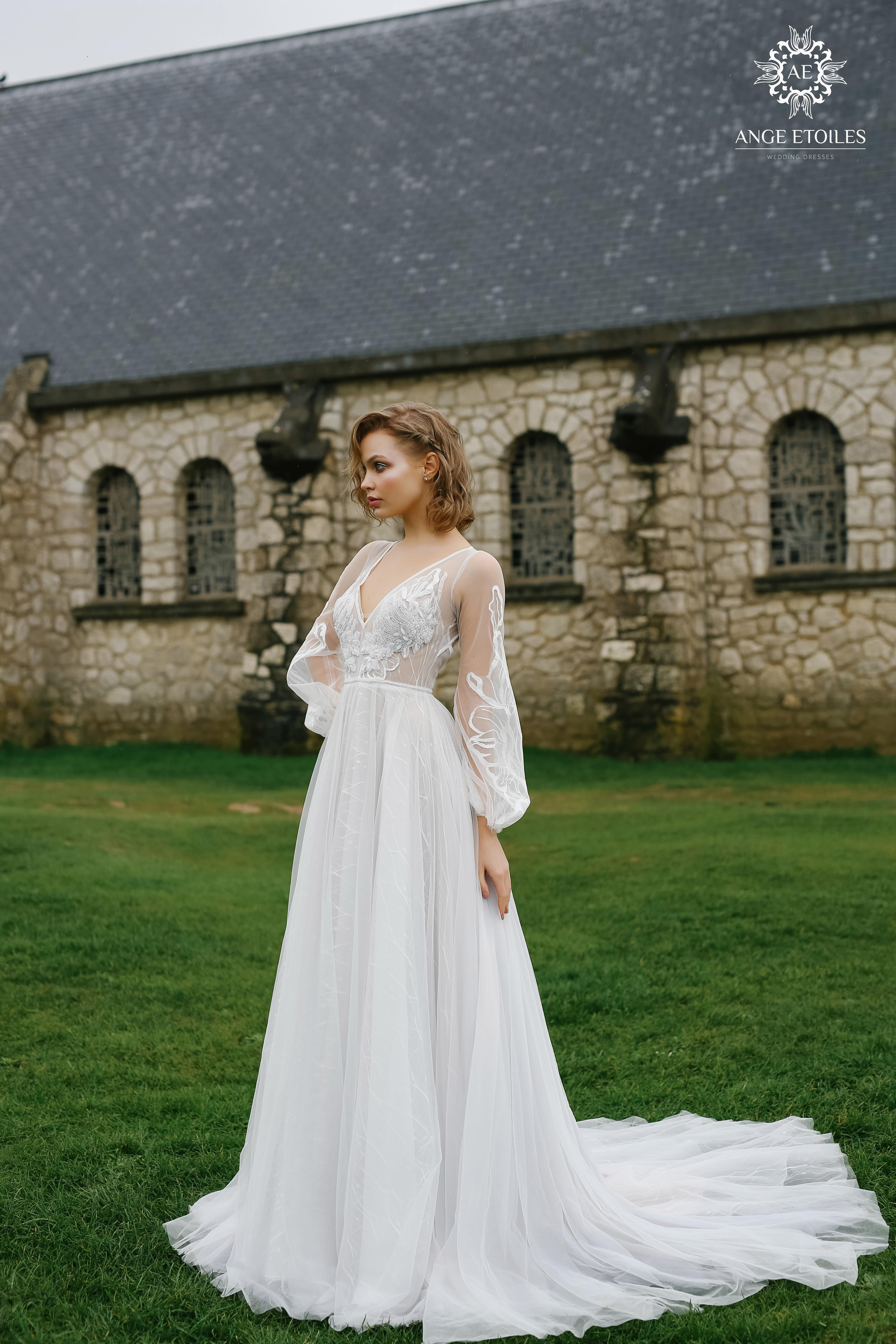 38c73a9dcbaa7 Wedding gown Ange Etoiles Luna | LUXX NOVA