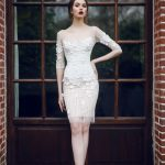 Wedding gown Ange Etoiles Silvi - short wedding dress