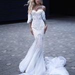 Wedding dress Darlin by Rara Avis in white color