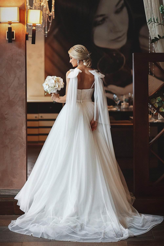 Wedding gown Blammo-Biamo Nora in white colour