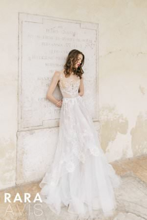 Wedding gown Rara Avis Aureli
