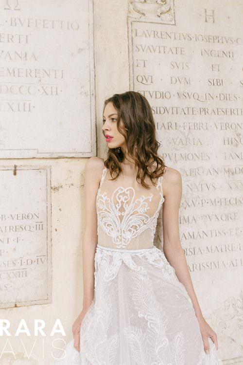 Wedding gown Rara Avis Aureli