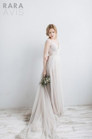 Wedding gown Rara Avis Tovel