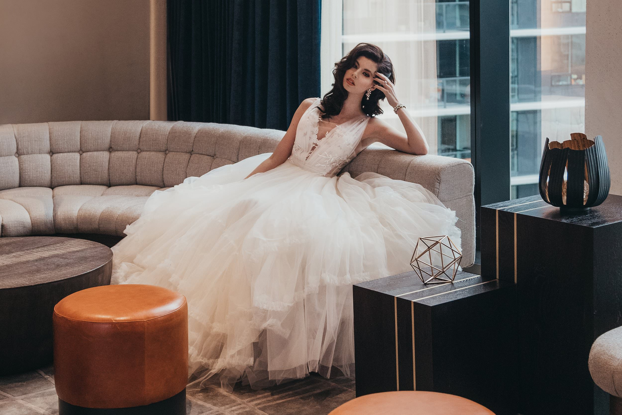 Ange Etoiles Dress Styled Shoot Canada wedding gown