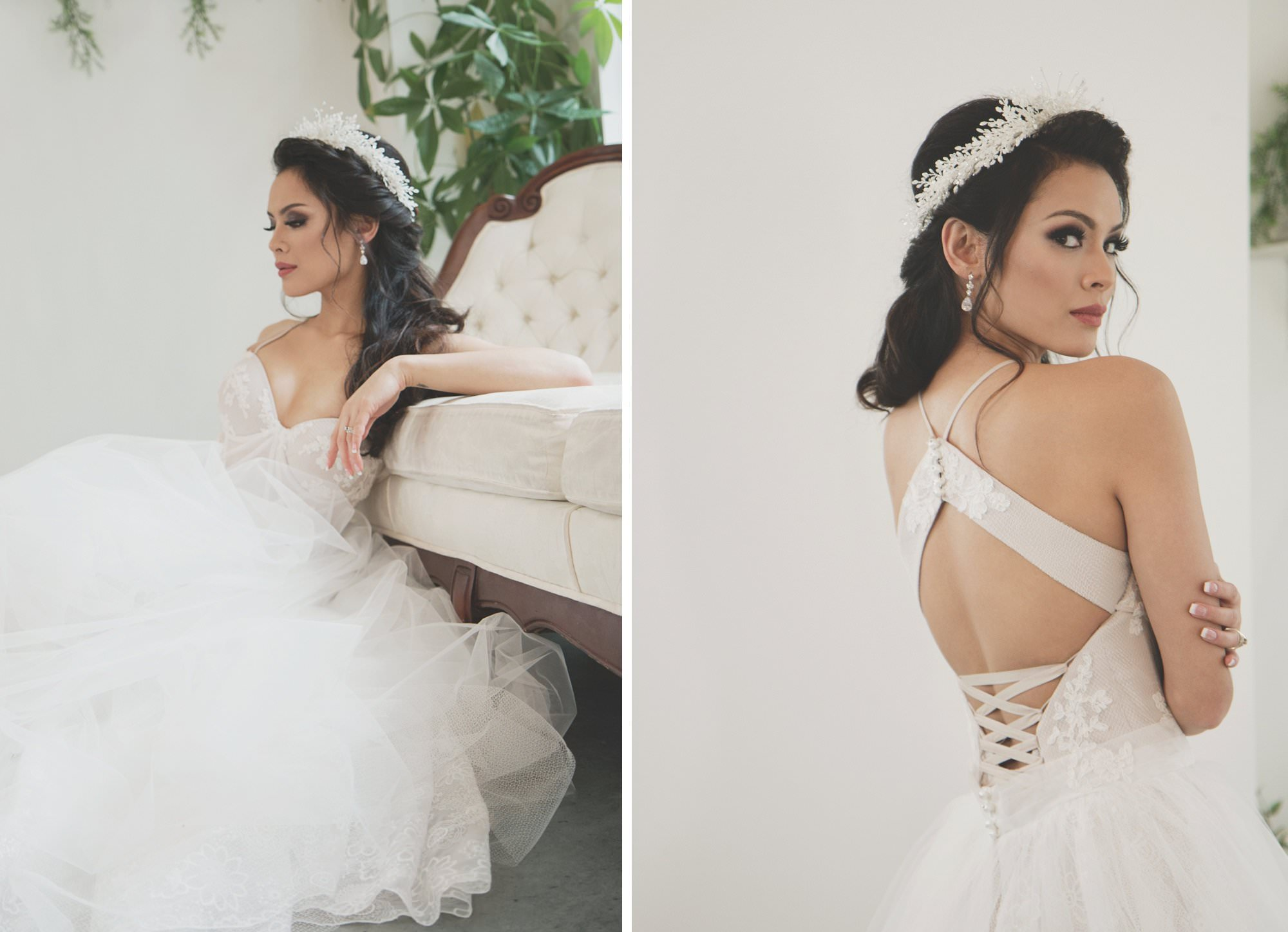 Ange Etoiles Wedding Dress Styled Photo Shoot