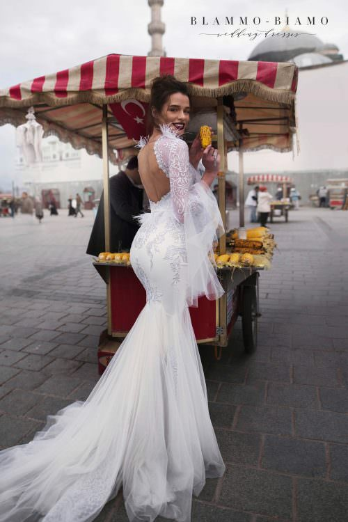 Wedding gown Blammo-Biamo EVRIDIKA