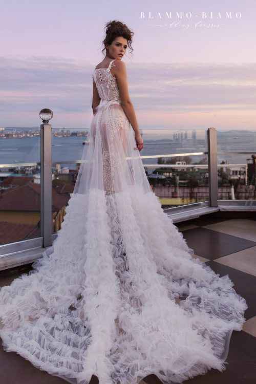 Wedding gown Blammo-Biamo VEILAR SONIS