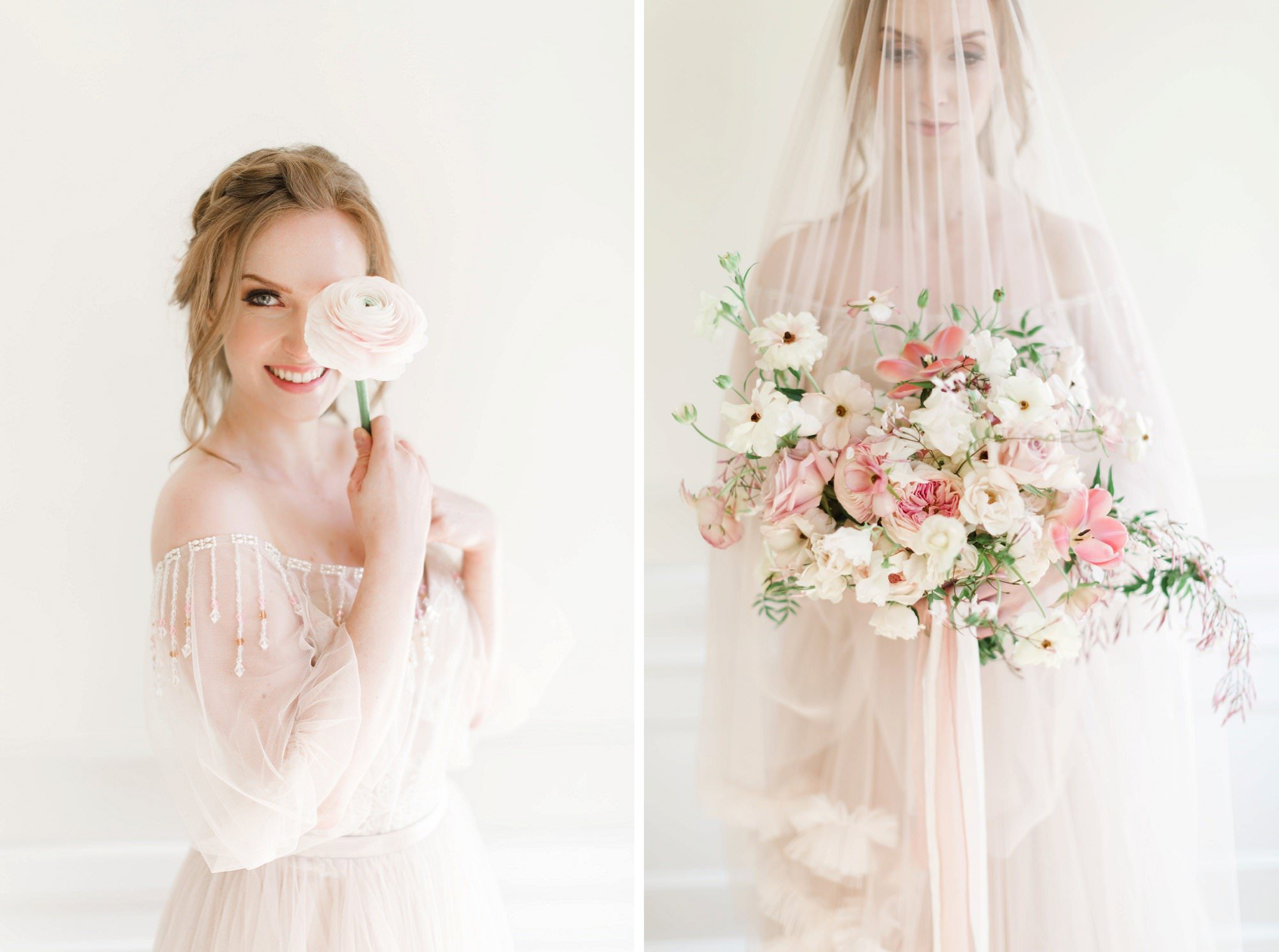 Rara Avis Dress Styled Shoot Canada
