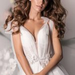 Wedding dress Afina by Ange Etoiles in white color