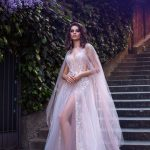 Wedding gown Ange Etoiles Afina in blush color