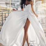 Wedding gown Ave Blantie