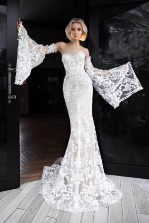 Wedding gown Strekoza Paradiso