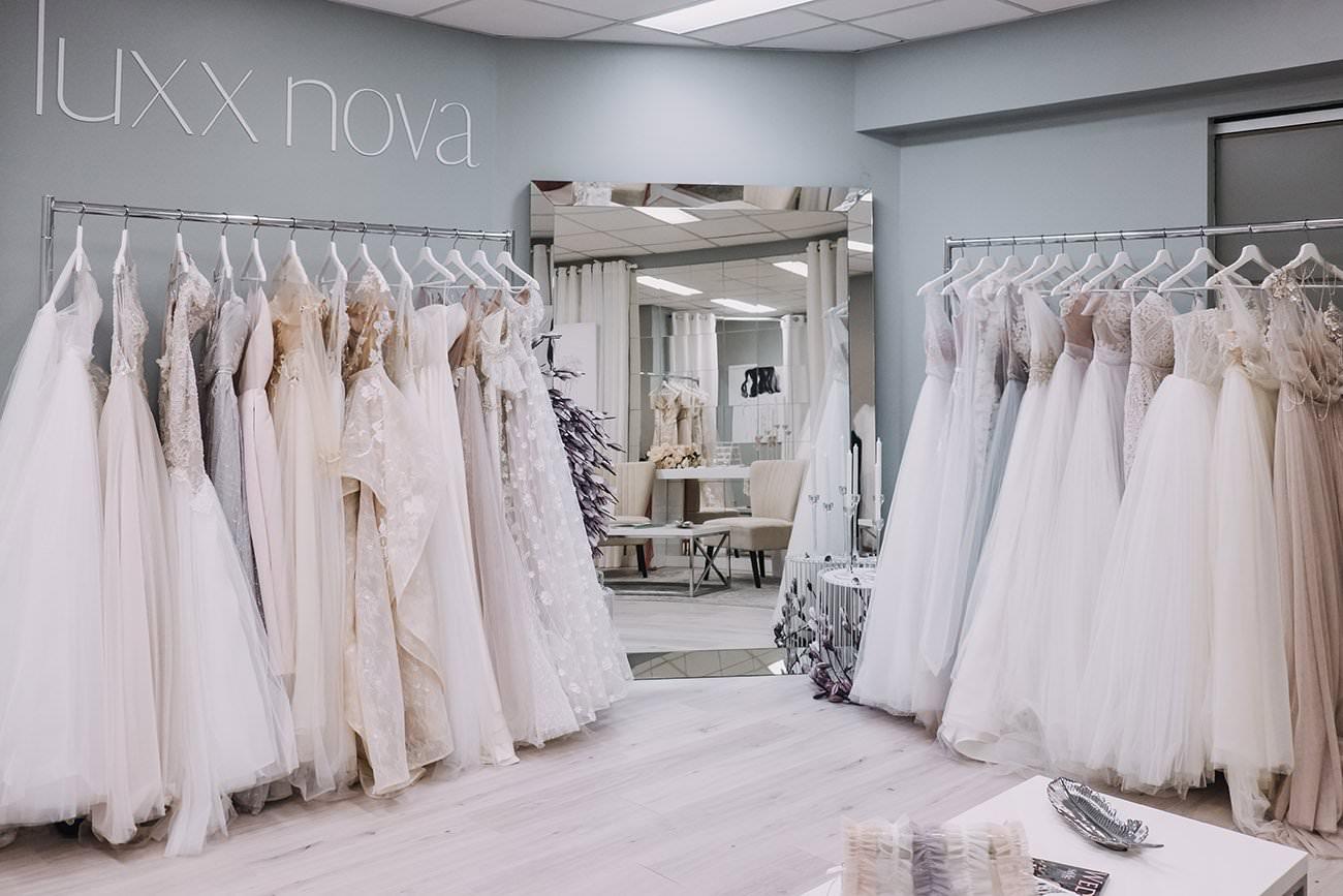 Bridal Store Vancouver - Luxx Nova, Downtown wedding store, European store