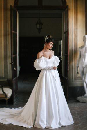 Wedding gown Blammo-Biamo Itan
