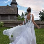 Wedding gown Rara Avis Flamingo
