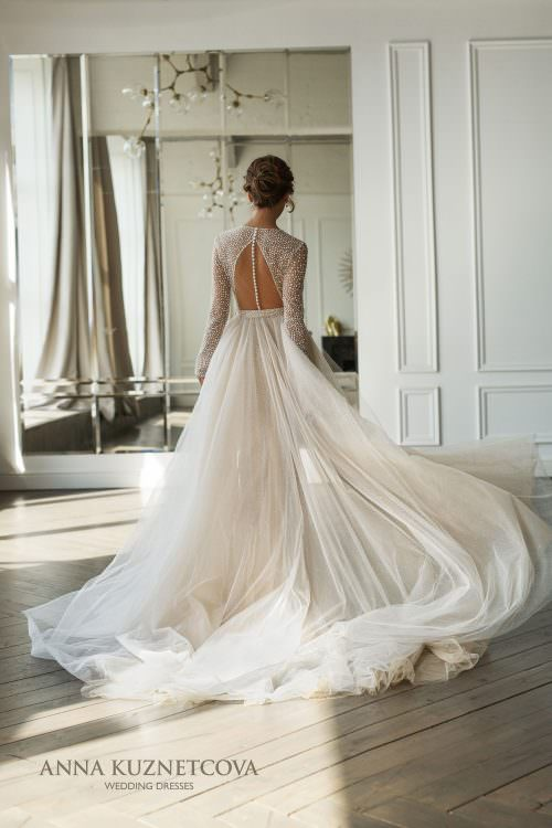Wedding dress Diana by Anna Kuznetcova