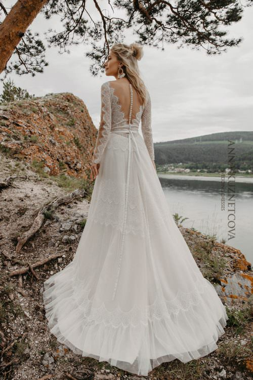 Wedding dress Anna Kuznetcova Gerda
