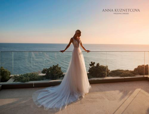 Wedding dress Anna Kuznetcova Kolomb