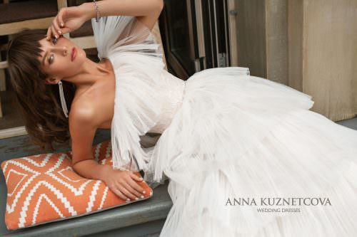 Wedding dress Anna Kuznetcova Okin