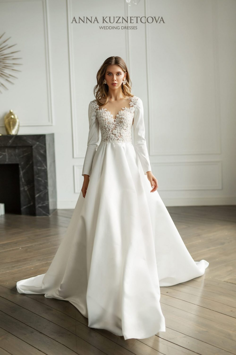 Wedding dress nna Kuznetcova Zheneviev