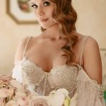 Wedding dress Darlin by Rara Avis in white color