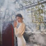 Fit and flare wedding dress Ange Etoiles Heidi