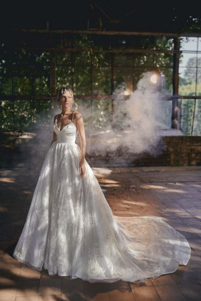 A-line wedding dress Ange Etoiles Kerri