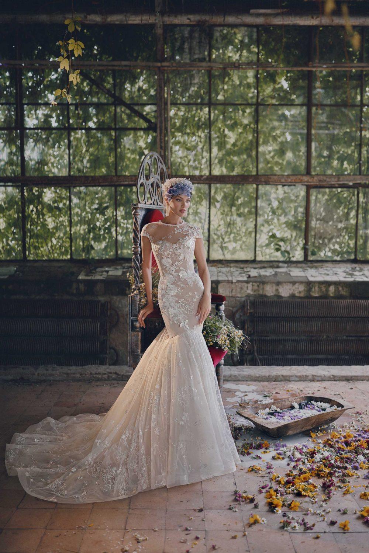 Mermaid wedding dress Ange Etoiles Monika