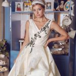 Unique wedding dress by Europen Designer Blammo-Biamo