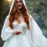 Strapless A-line wedding dress Bellona from Europe