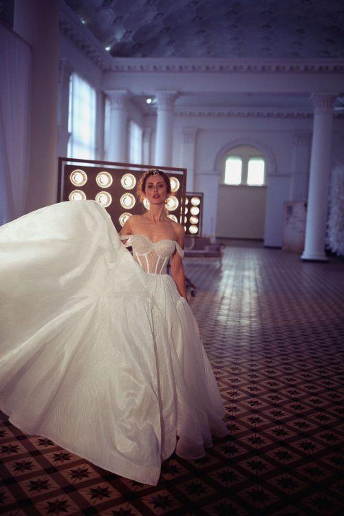 A-line sweetheart neckline Wedding dress Birma by Blaamo-Biamo