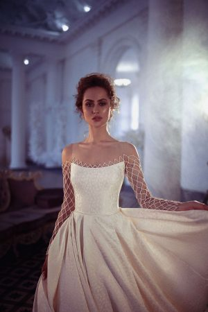 Wedding dress Ilaitis by Blammo-Biamo