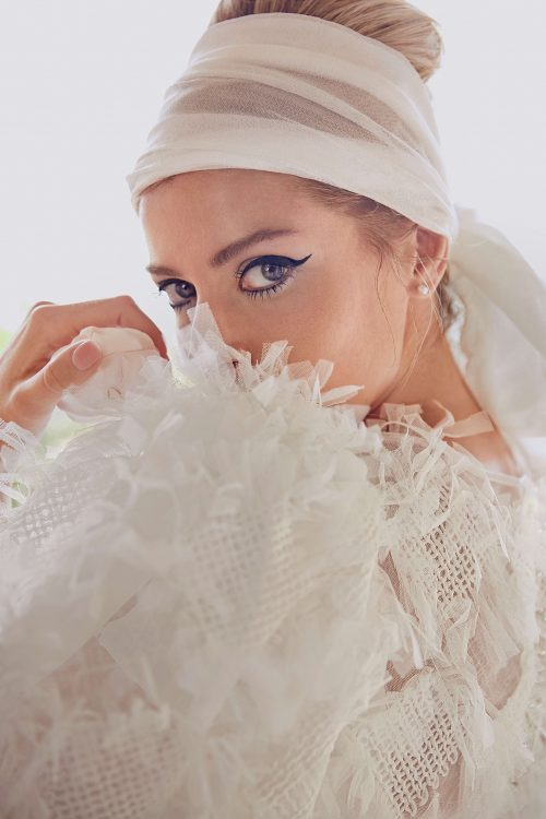 A-line white Wedding dress Izida by Rara Avis group