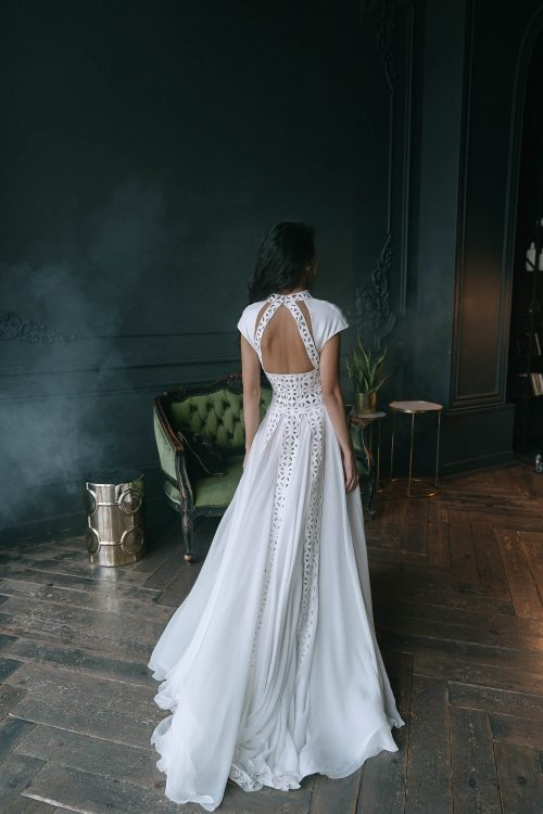 A=line wedding gown Ruslana by Rara AVis