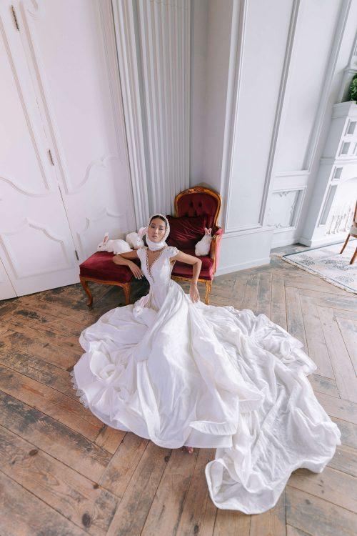 Wedding gown Lucien by Rara Avis