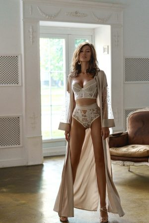 Rara Avis lingerie Dolores and Ivetta robe