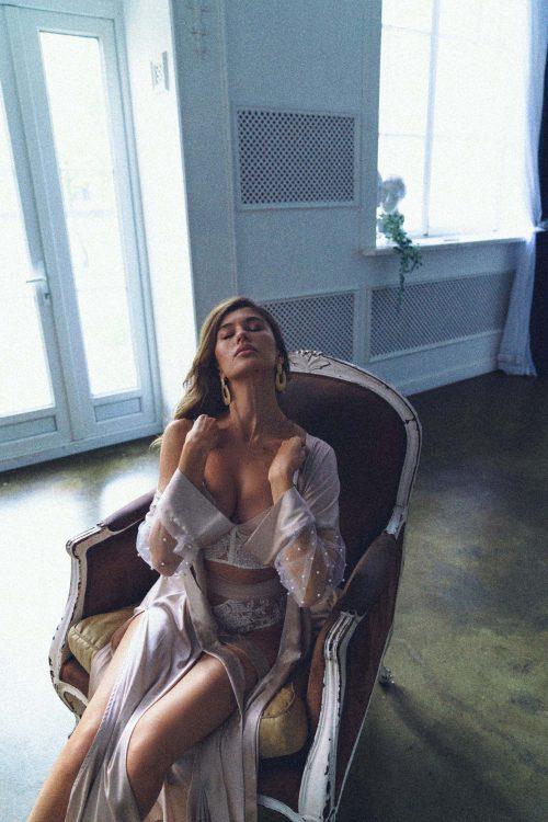 Rara Avis lingerie set Dolores and Ivetta robe