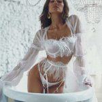 Rara Avis lingerie set Nava and Kim robe