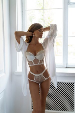 Rara Avis lingerie set Nissa and Ioanna robe
