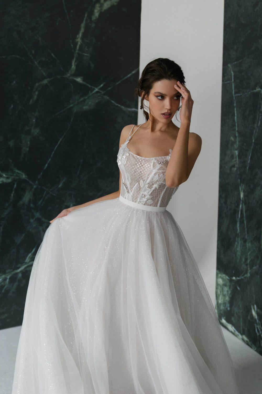 A-line wedding dress Aglaya by Rara Avis