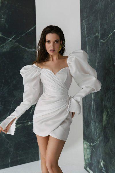 Short wedding dress Ottawa by Rara Avis