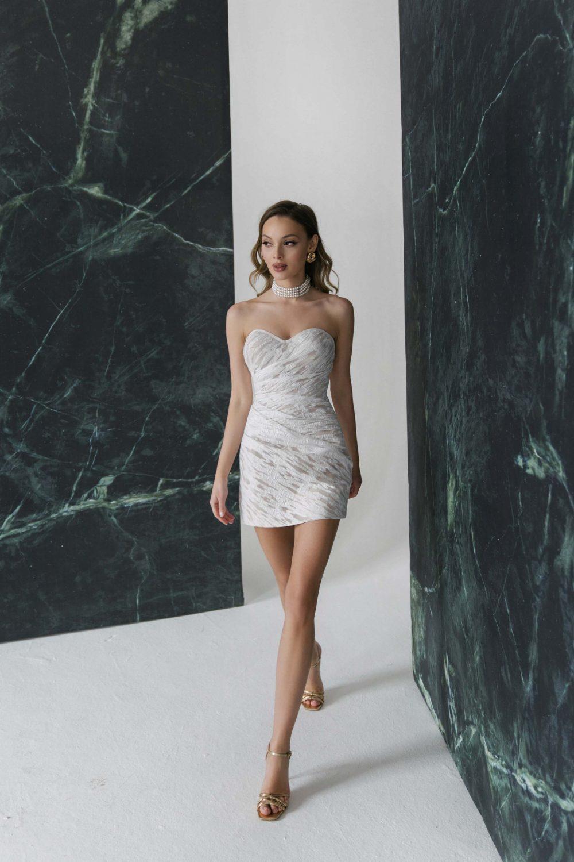 Short wedding dress Quito by Rara Avis