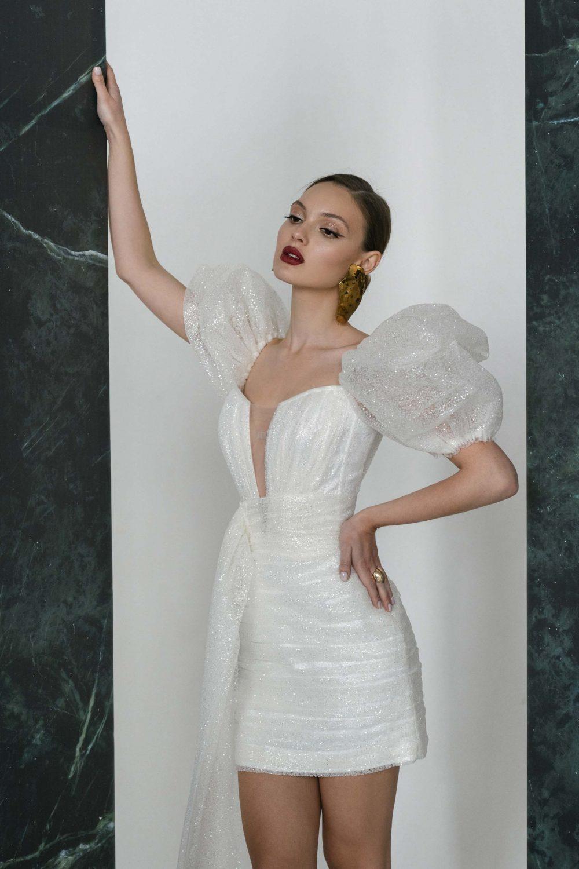 Short wedding dress Reykjavik by Rara Avis