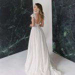 A-line cap sleeve wedding dress Stasia by Rara Avis