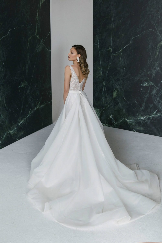 Mermaid wedding dress Stephanie by Rara Avis